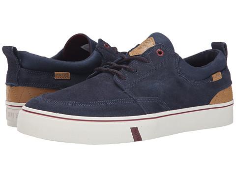 HUF - Ramondetta (Navy/Wine) Men's Skate Shoes