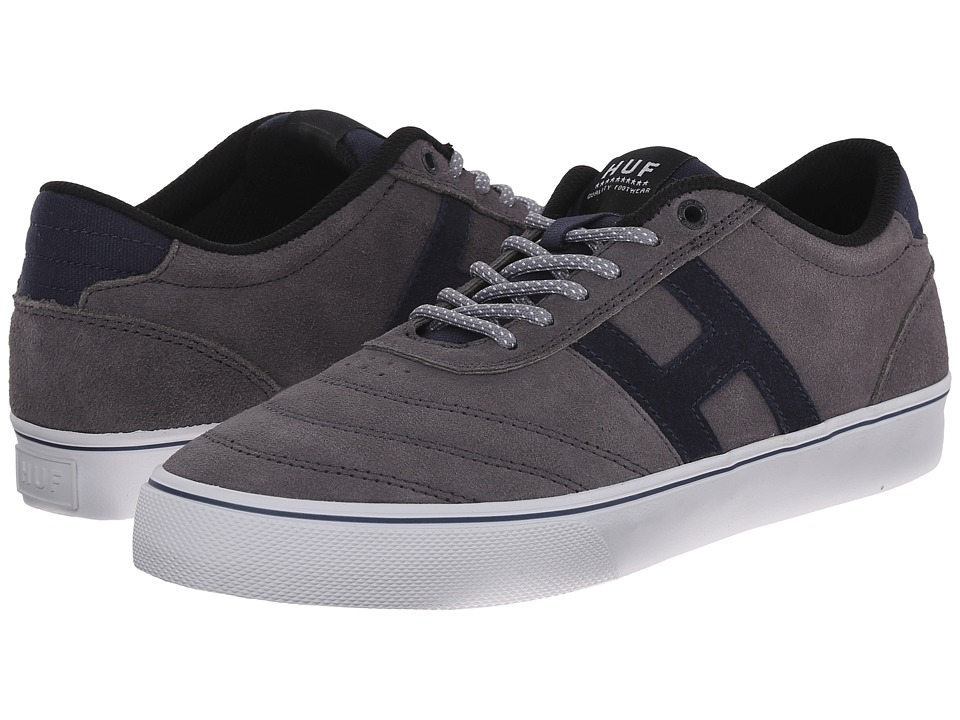 HUF - Galaxy (Mid Grey/Dark Navy) Men's Skate Shoes