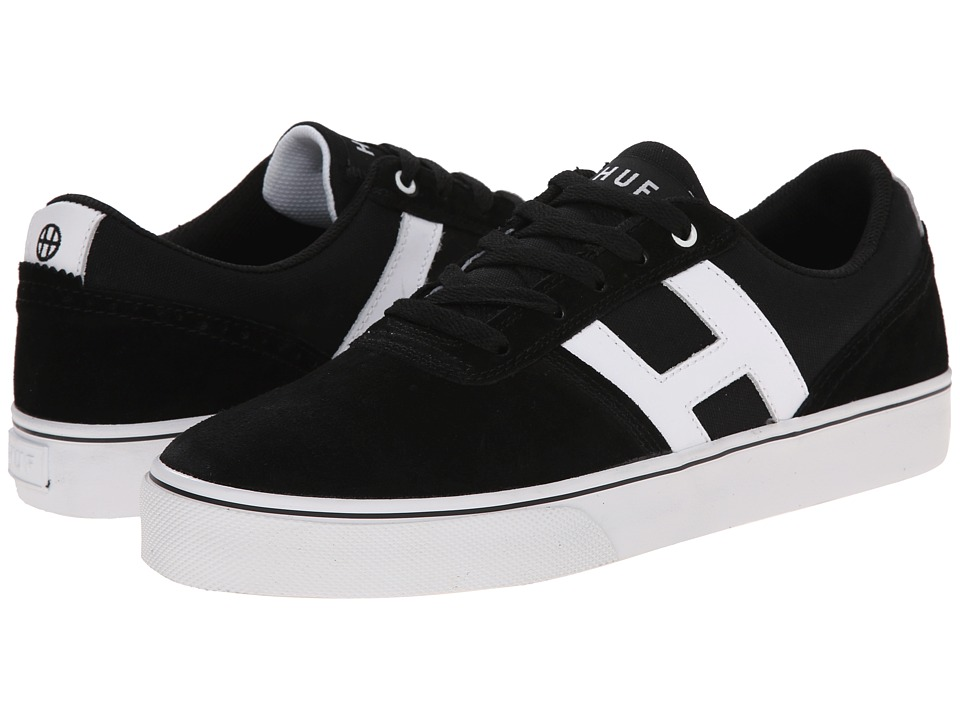 HUF - Choice (Black/White) Men's Skate Shoes