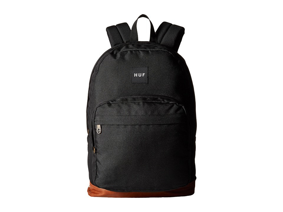 HUF - Utility Backpack (Black) Backpack Bags