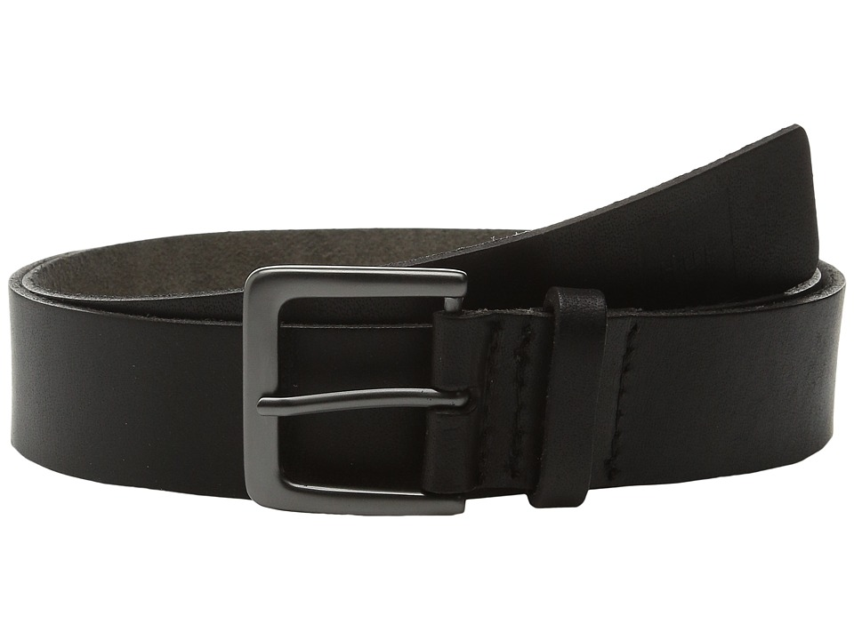 HUF - Genuine Leather Belt (Black) Belts