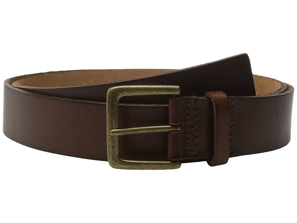 HUF - Genuine Leather Belt (Brown) Belts