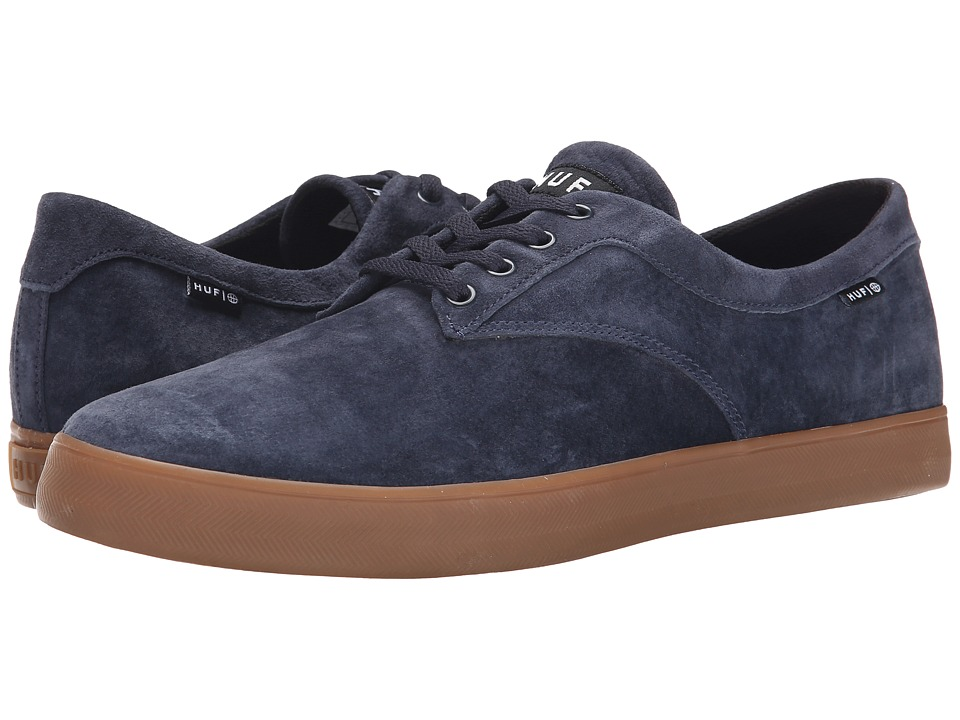 HUF - Sutter (Dark Navy/Gum) Men's Skate Shoes