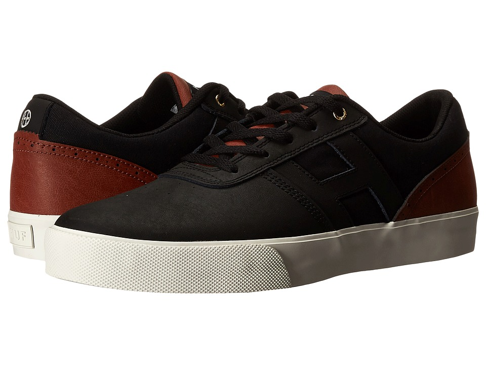 HUF - Choice (Black/Tan) Men's Skate Shoes