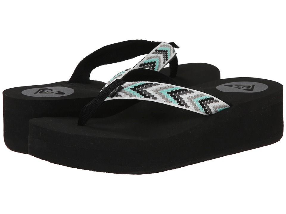 Roxy - Barbados Sandals (Black) Women's Sandals