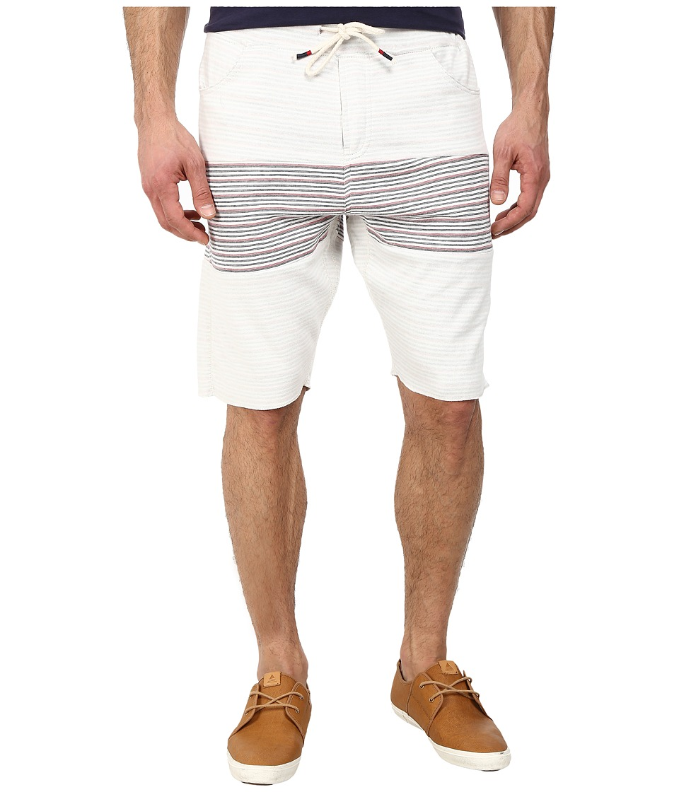 Howe - Backside Stripe Shorts (Bone) Men's Shorts