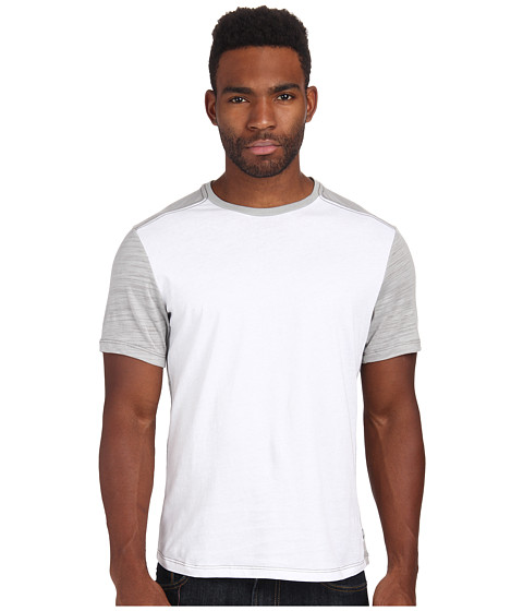 Howe - 5 Seconds Tee (White/Heather Grey) Men's T Shirt