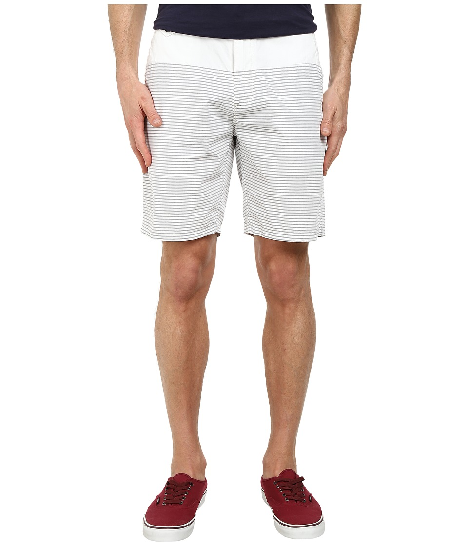 Howe - Crate Savers Stripe Shorts (Asphalt) Men's Shorts