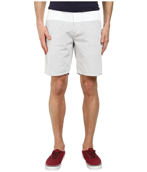 Howe - Crate Savers Stripe Shorts (Asphalt) Men