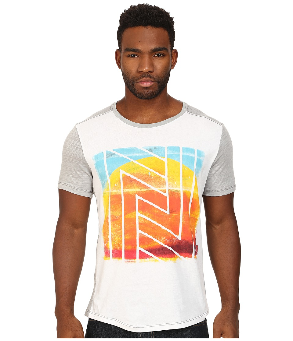 Howe - New Son Graphic Tee (White/Heather Grey) Men