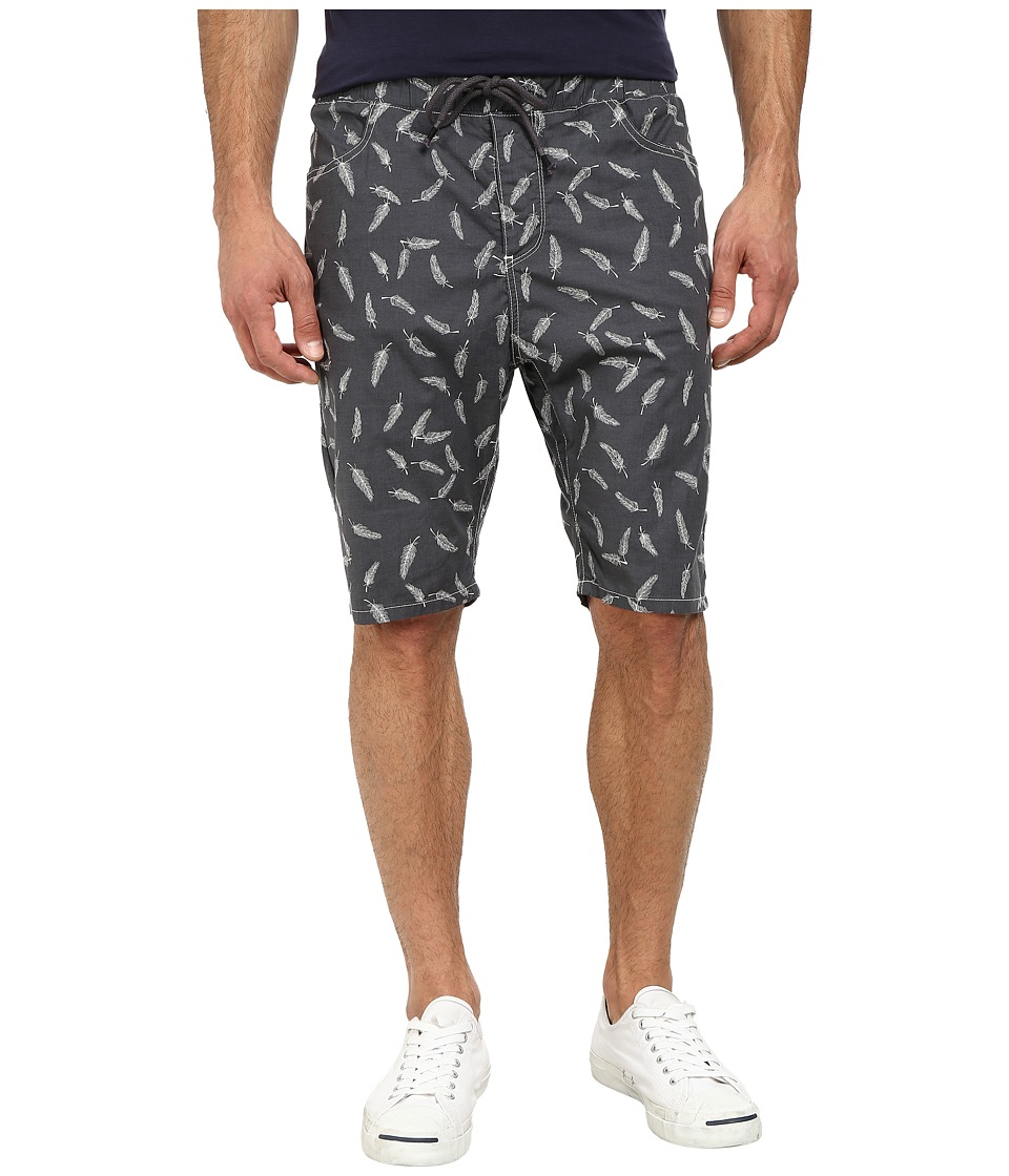 Howe - Black Bird Shorts (Asphalt) Men's Shorts