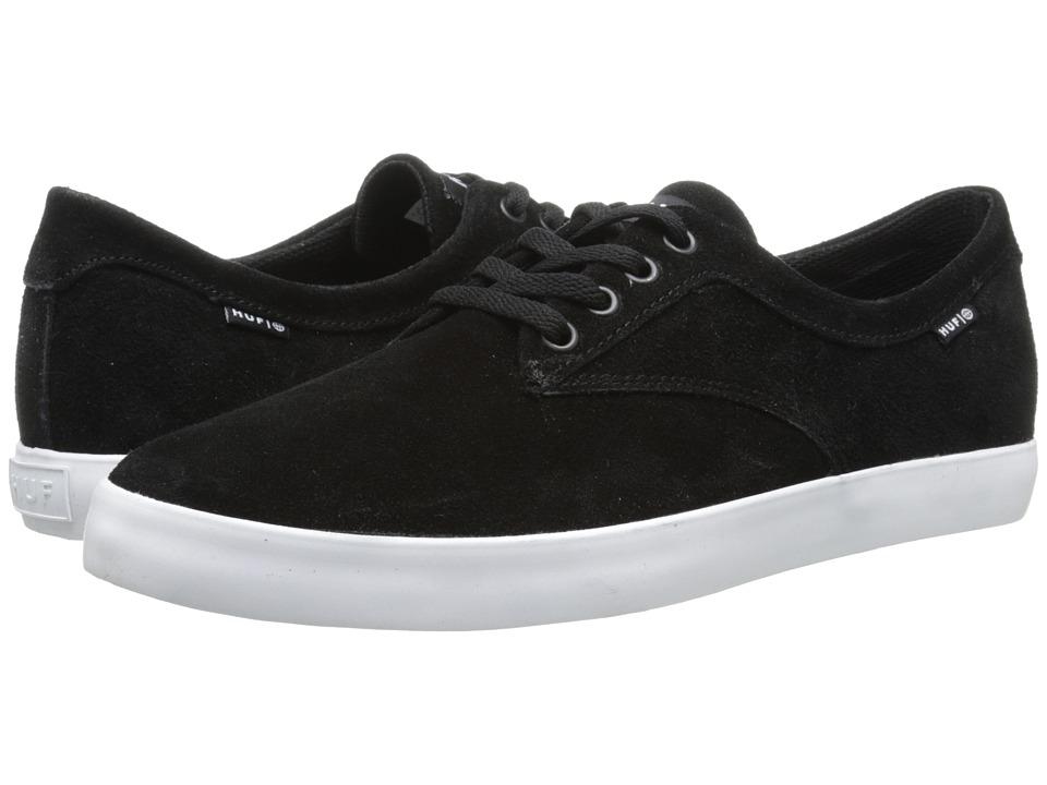 HUF - Sutter (Black/White) Men's Skate Shoes