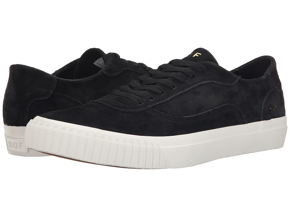 HUF - Essex (Black) Men's Skate Shoes