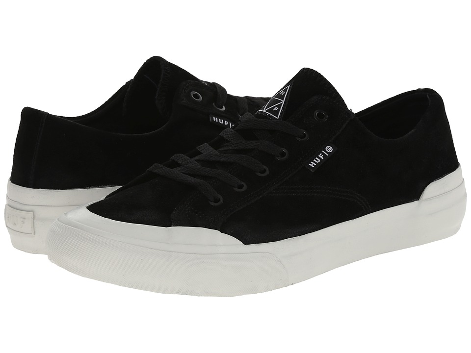 HUF - Classic Lo (Black/Bone) Men's Skate Shoes