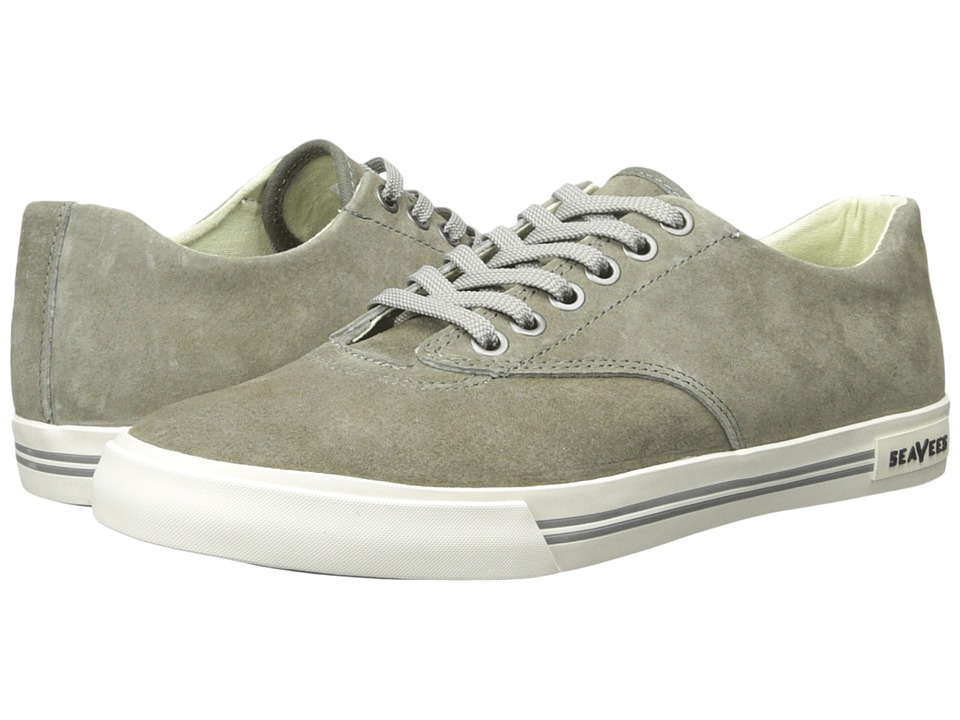 SeaVees - 08/63 Hermosa Plimsoll Riv (Dusty Olive) Men's Shoes