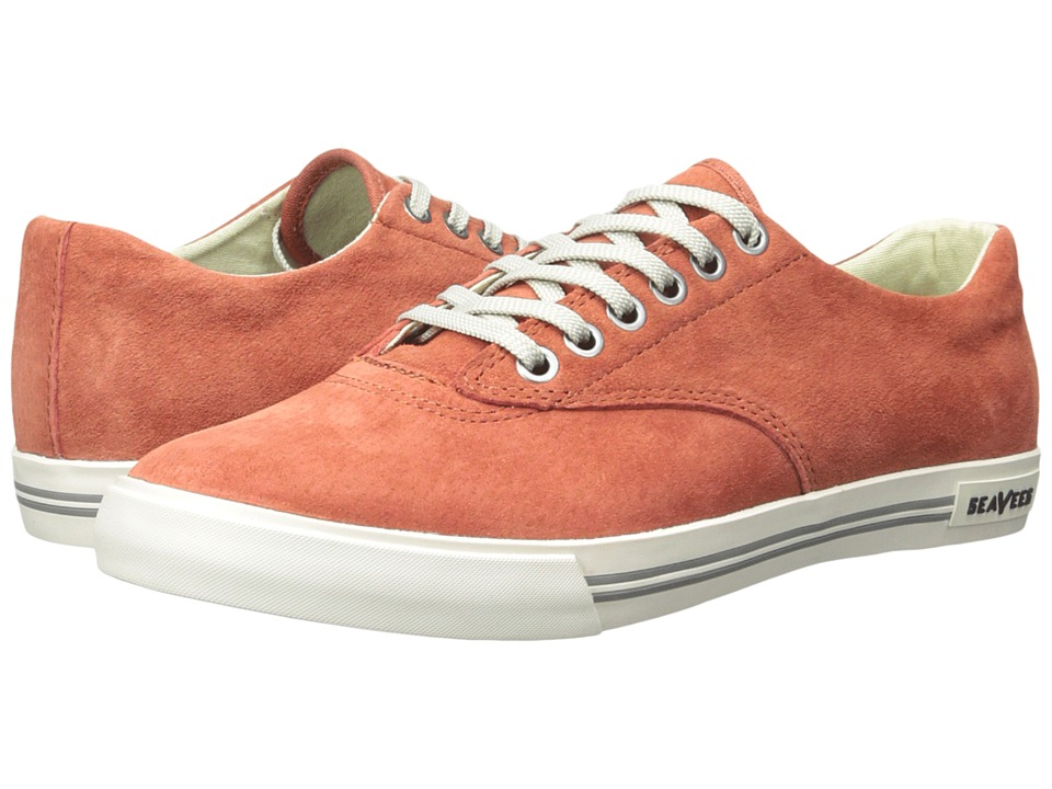 SeaVees - 08/63 Hermosa Plimsoll Riv (Picante) Men's Shoes