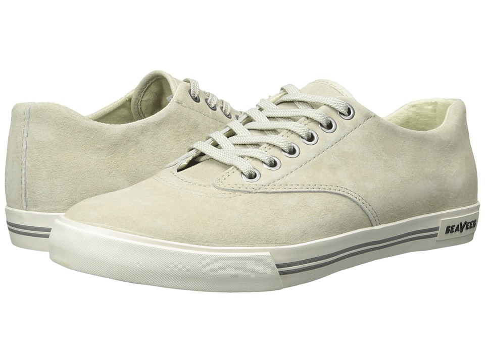 SeaVees - 08/63 Hermosa Plimsoll Riv (Stone) Men's Shoes