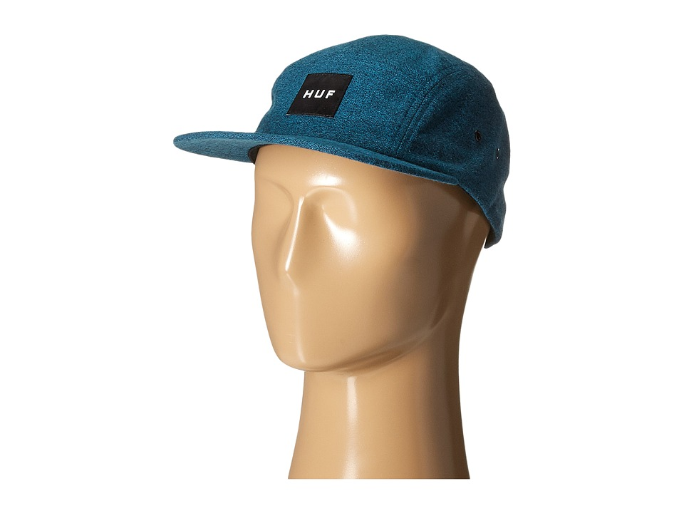 HUF - Melange Volley (Jade) Caps