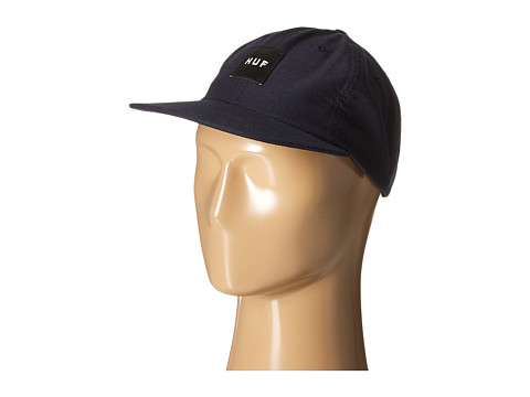 HUF - Box Logo 6 Panel (Navy) Caps