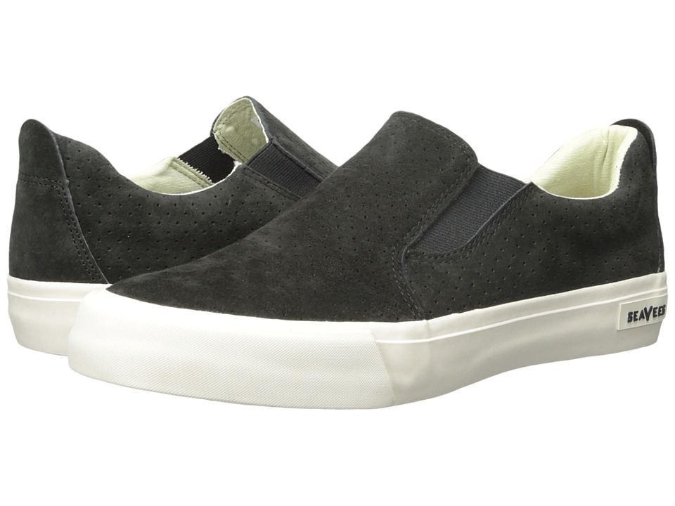 SeaVees - 05/66 Hawthorne Slip On Riv (Blacktop) Men's Shoes