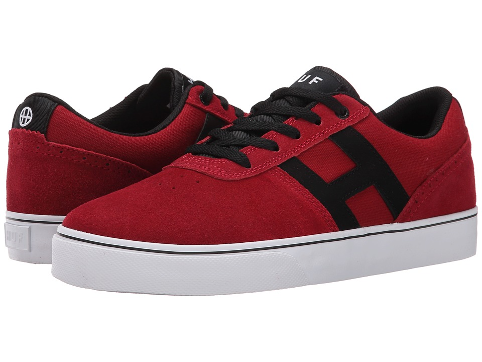 HUF - Choice (Red/Black) Men's Skate Shoes