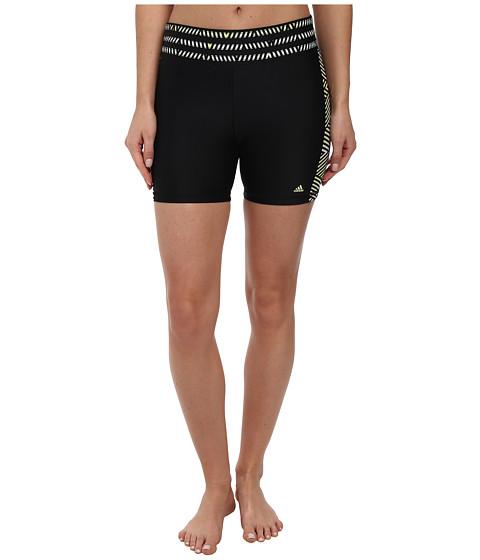 adidas - So Diamond Chic Swim Thigh Leggings (Citron) Women