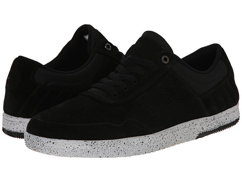 HUF - Hufnagel 2 (Black/Bone White 2) Men's Skate Shoes