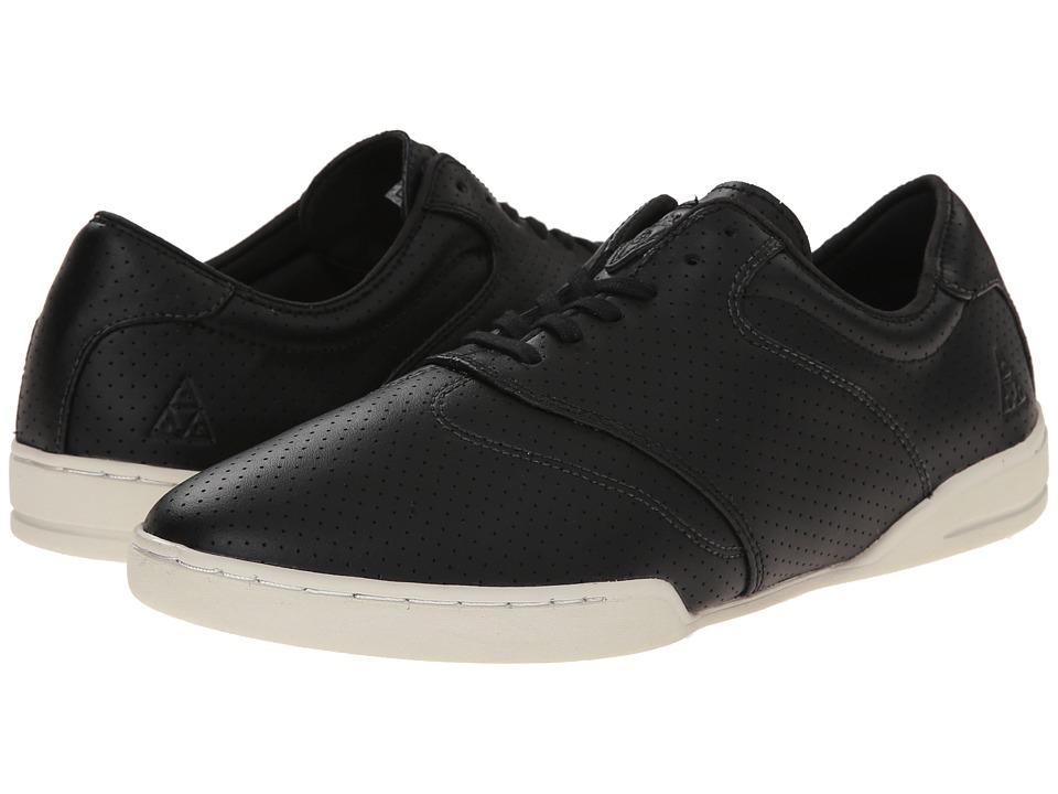 HUF - Dylan (Black/Perf Bone) Men's Skate Shoes