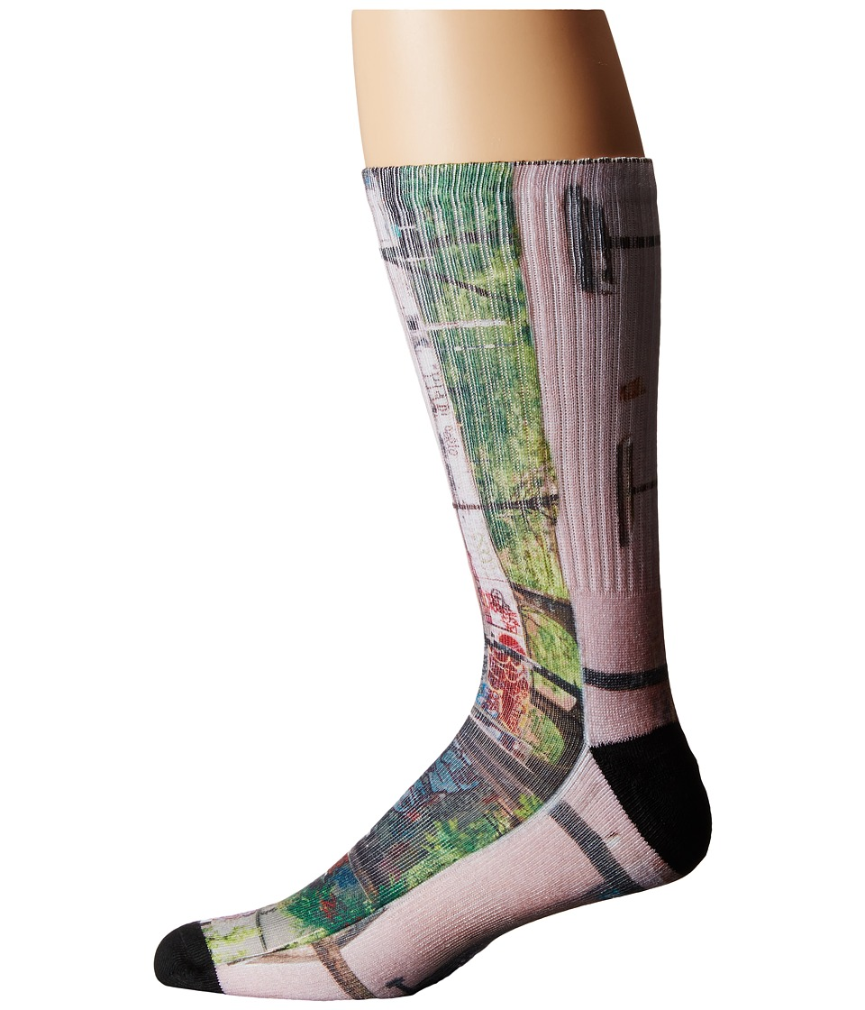 HUF - Ari Sublimated Photo Sock (Brooklyn Banks) Crew Cut Socks Shoes