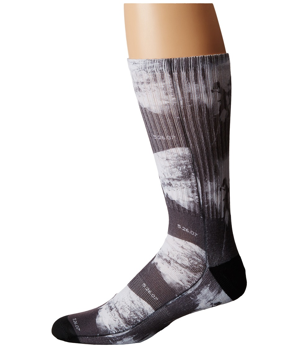 HUF - Ari Sublimated Photo Sock (Spray) Crew Cut Socks Shoes