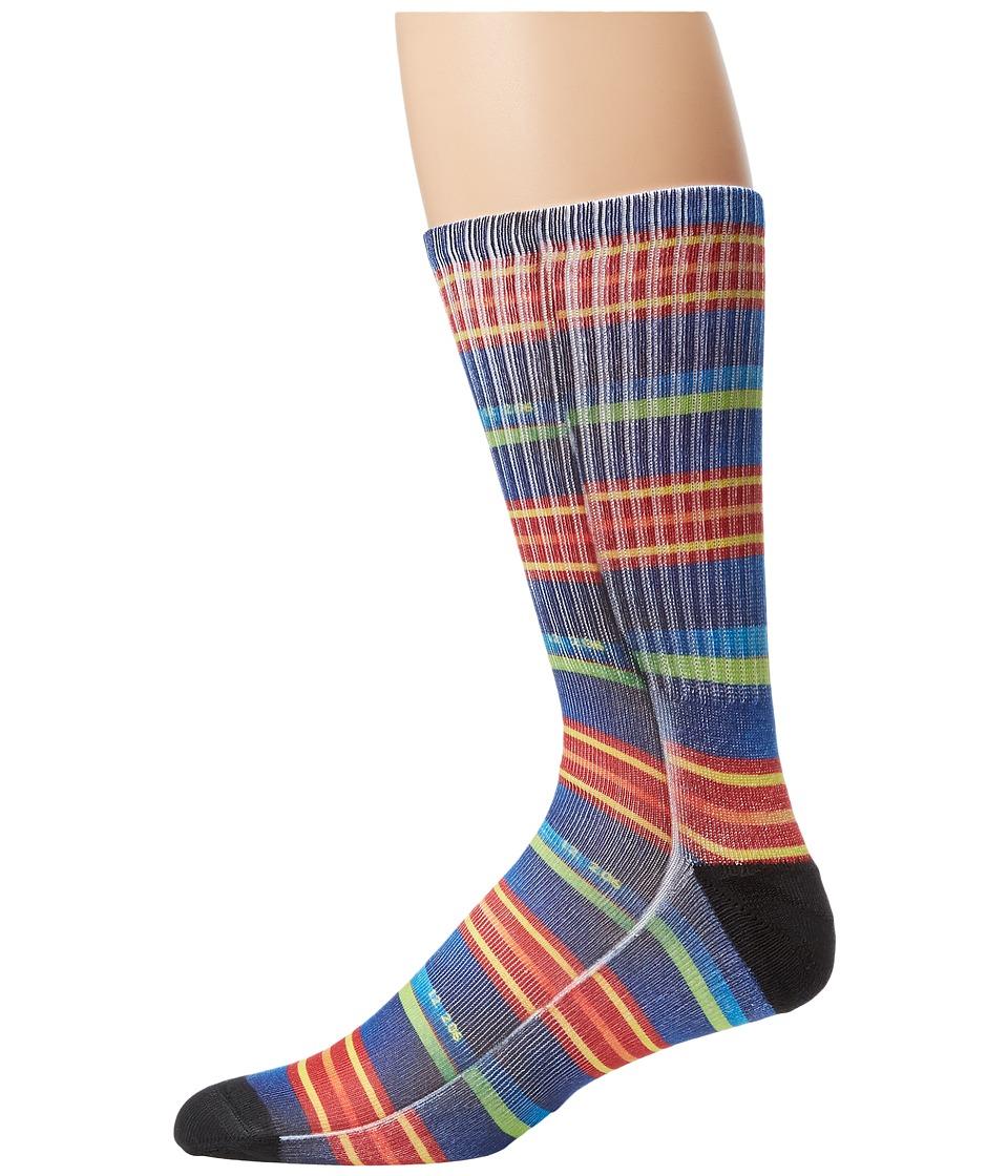 HUF - Ari Sublimated Photo Sock (Stripes) Crew Cut Socks Shoes