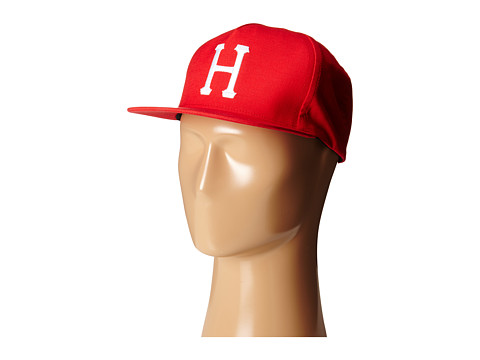 HUF - Classic H Snapback (Red) Caps