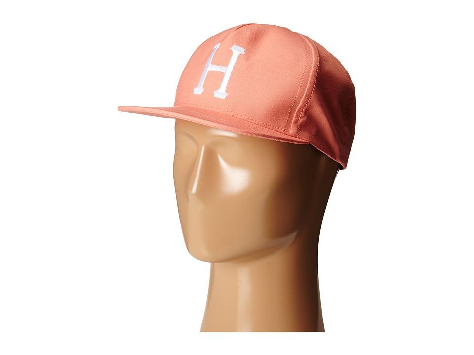 HUF - Classic H Snapback (Salmon) Caps