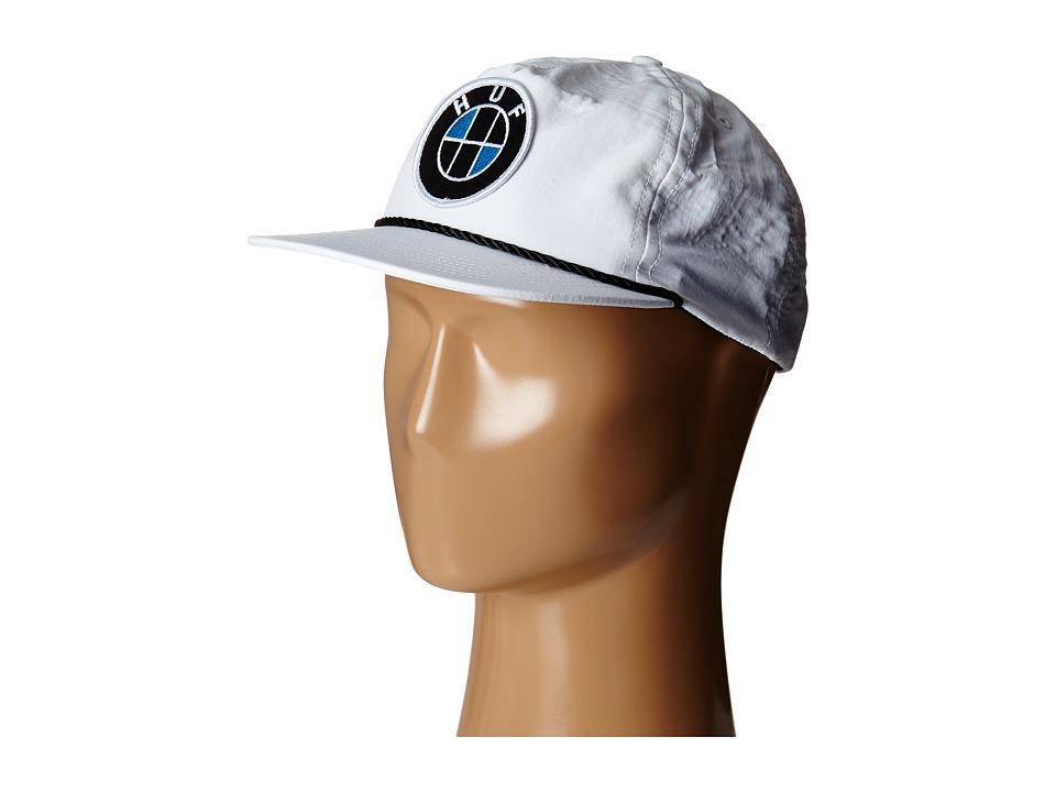 HUF - Bavaria Snapback (White) Caps