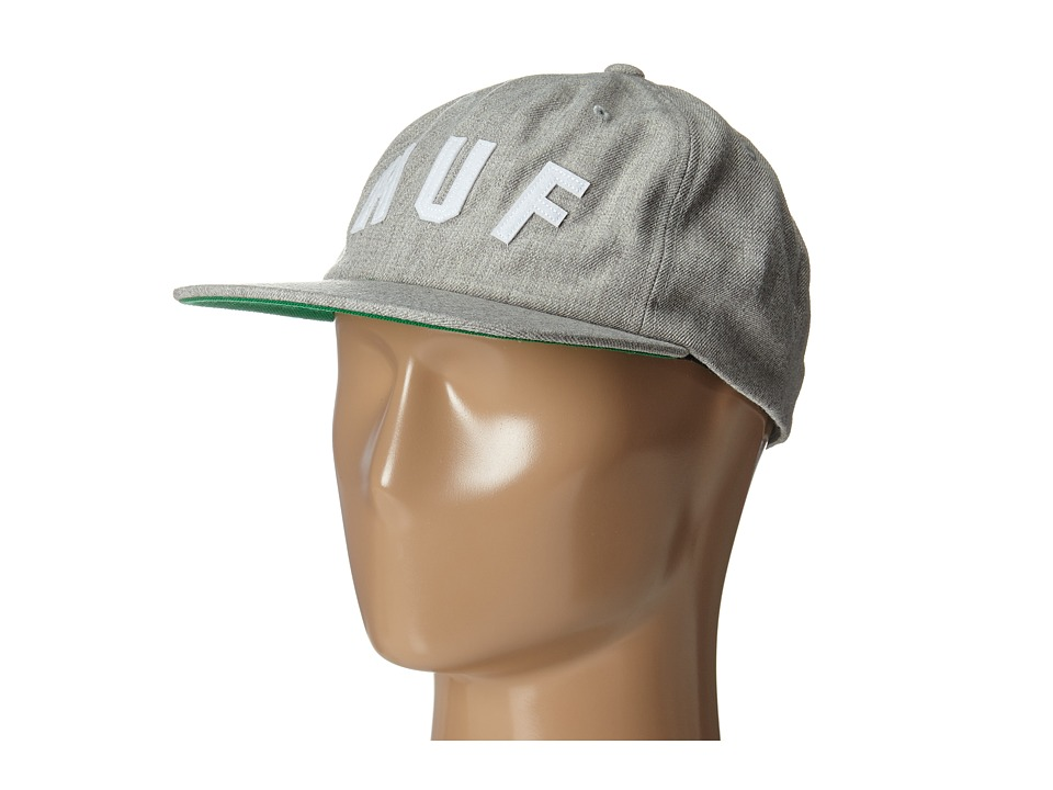 HUF - Short Stop 6 Panel (Light Gray Heather) Caps