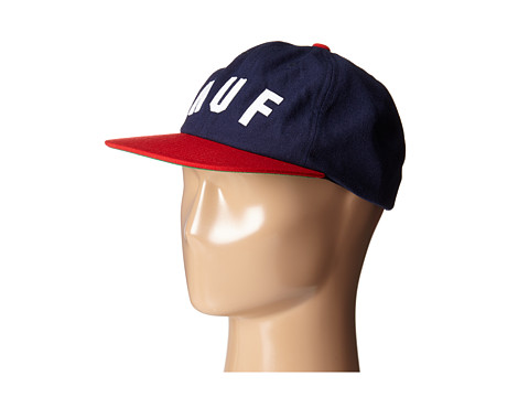 HUF - Short Stop 6 Panel (Navy) Caps