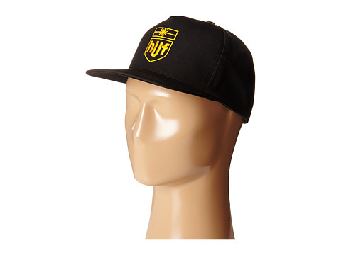 HUF - Delivery Snapback (Black) Caps