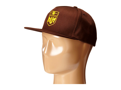 HUF - Delivery Snapback (Brown) Caps