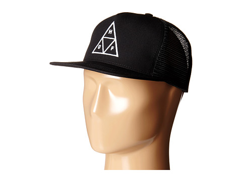 HUF - Triple Triangle Trucker (Black) Caps