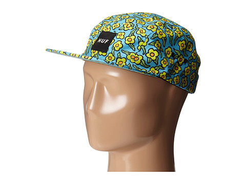 HUF - Huf X Krooked Flowers Volley (Peacock) Caps