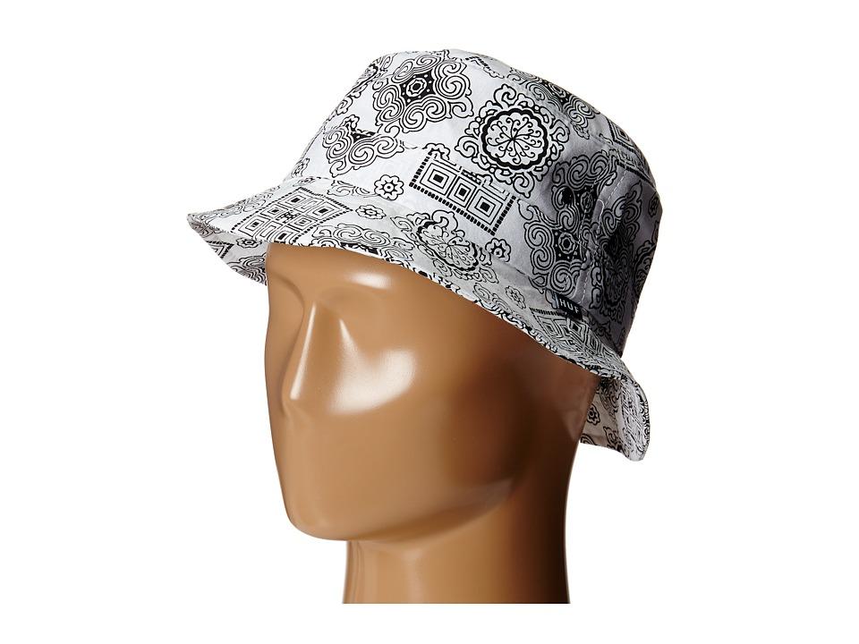 HUF - Bruce Bucket (White) Bucket Caps