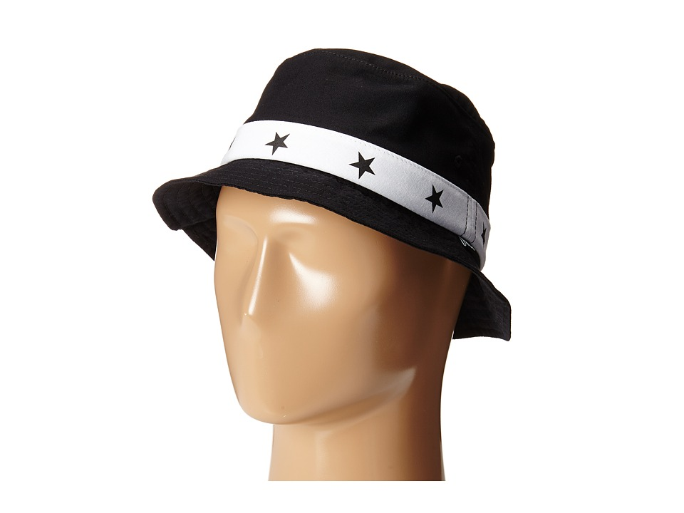 HUF - 5 Star Bucket (Black) Bucket Caps