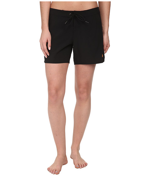 Roxy - Classic 5 Boardshorts (True Black) Women's Swimwear