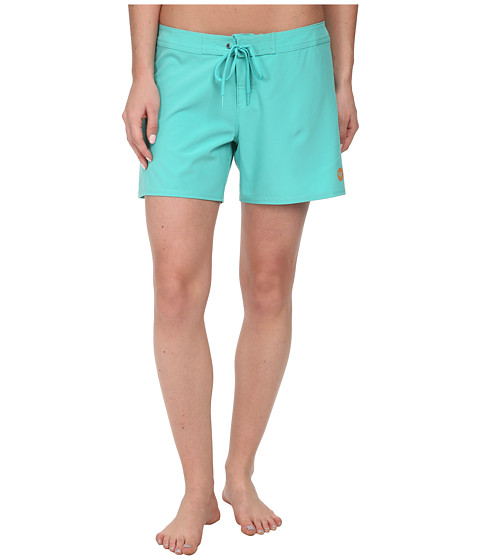 Roxy - Classic 5 Boardshorts (Waterfall) Women's Swimwear