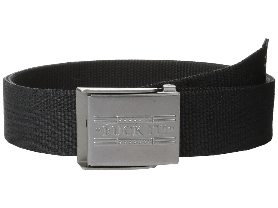 HUF - F*** It Scout Belt (Black) Belts