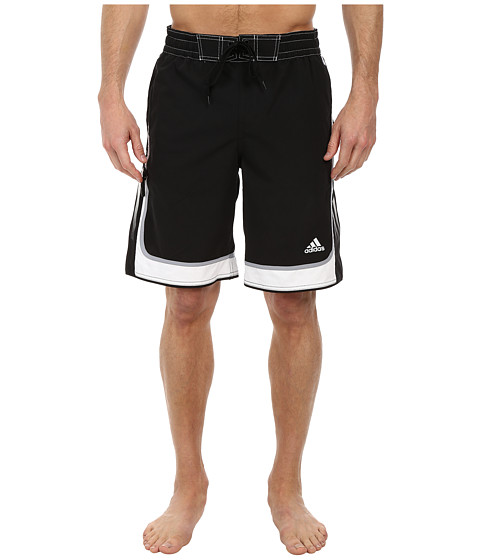 adidas - Jump Volley Shorts (Black) Men's Swimwear