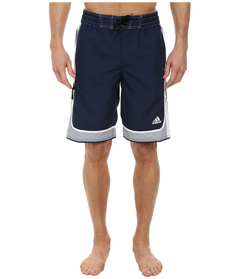 adidas - Jump Volley Shorts (Navy) Men's Swimwear