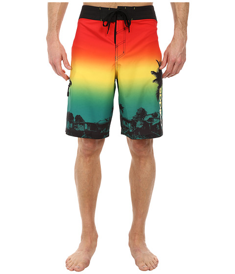 adidas - One Love Boardshorts (Multi) Men's Swimwear