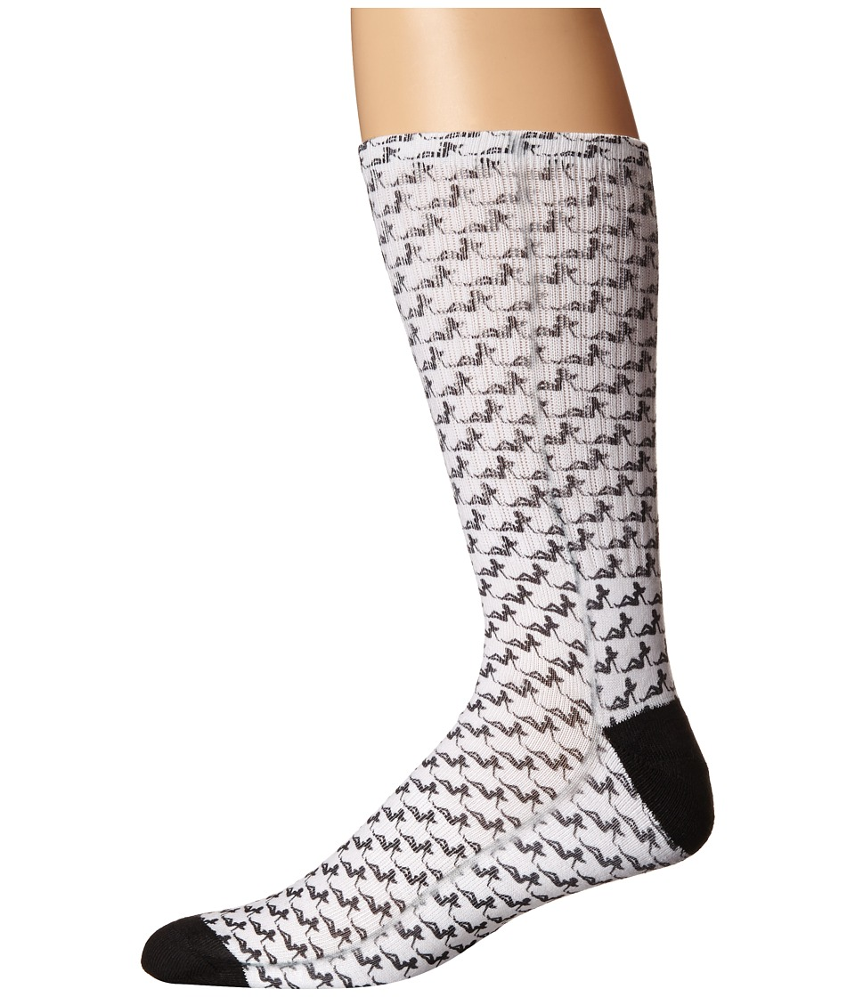 HUF - Dime Bag Crew Sock (Girl) Crew Cut Socks Shoes