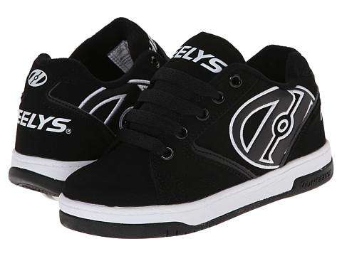 Heelys - Propel (Little Kid/Big Kid/Adult) (Black/White) Kids Shoes
